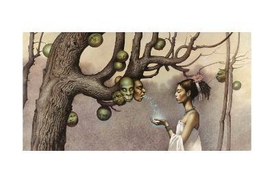Event Illustrates the Conception of the Hero Twins-John Jude Palencar-Giclee Print
