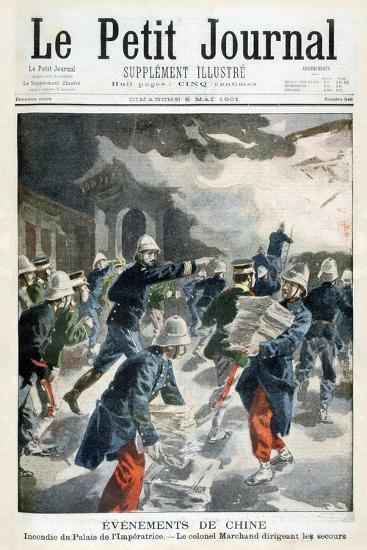 Events in China, Incident at the Imperial Palace, 1901--Giclee Print