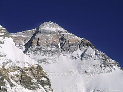 Everest North Face, Tibet-Pat Parsons-Photographic Print