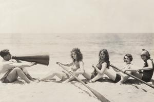 Rowing Lesson by Everett Collection