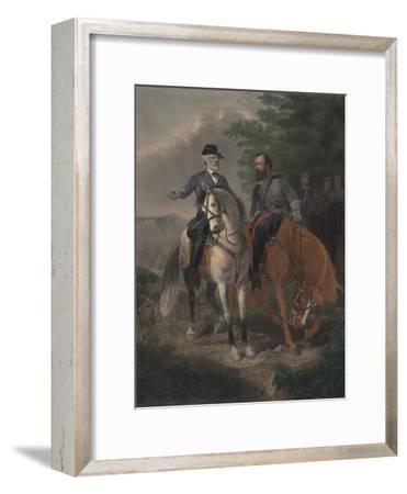 Last Meeting Between Generals Lee and Jackson, 1872