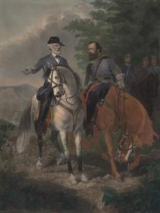 Last Meeting Between Generals Lee and Jackson, 1872 by Everett D. B. Julio