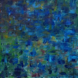 Mixed Emotions in Blue II by Everett Spruill