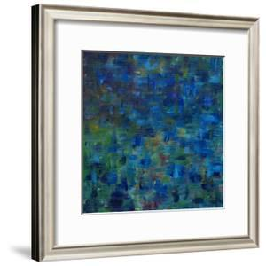 Mixed Emotions in Blue II by Everett Spruill