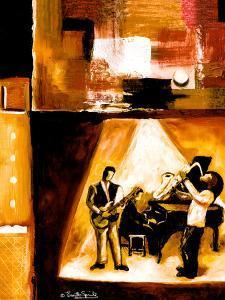Musical Trio II by Everett Spruill
