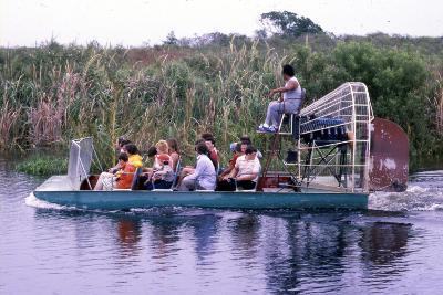 Everglades Airboat Ride, C.1987--Photographic Print