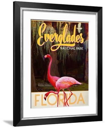 Everglades National Park--Framed Giclee Print