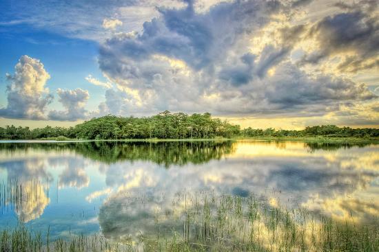 Everglades Sunset-Dennis Goodman-Photographic Print