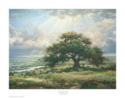 Everlasting Arms-Larry Dyke-Art Print
