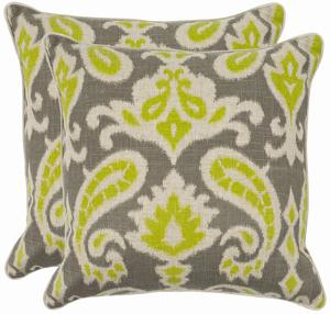 Everly Pillow Pair - Lime 18""