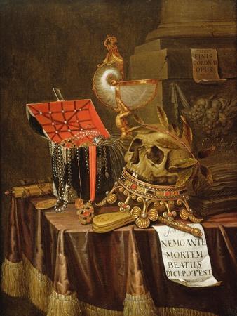 A Vanitas Still Life, 1689