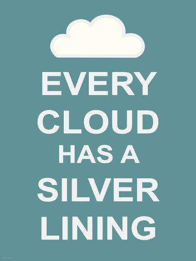 Every Cloud Has A Silver Lining-The Vintage Collection-Premium Giclee Print