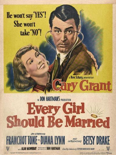 Every Girl Should Be Married, 1948, Directed by Don Hartman--Giclee Print