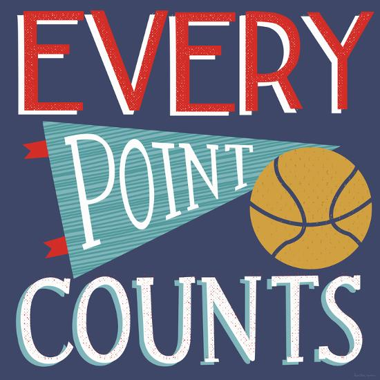 Every Point Counts-Heather Rosas-Art Print