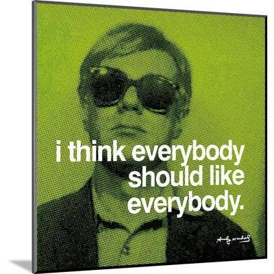 Everybody--Mounted Print