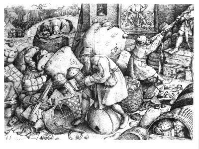 Everyman-Pieter Bruegel the Elder-Giclee Print