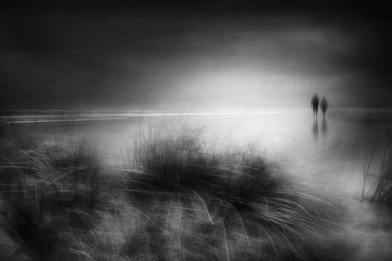 Everything changes like the shoreline and the sea-Charlaine Gerber-Photographic Print