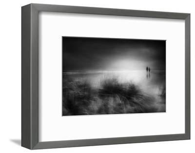 Everything changes like the shoreline and the sea-Charlaine Gerber-Framed Photographic Print