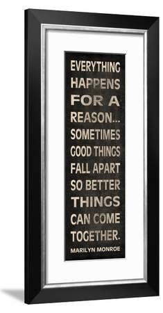 Everything Happens-N. Harbick-Framed Premium Giclee Print