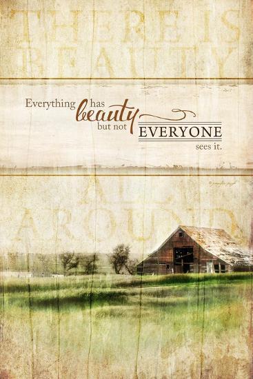 Everything Has Beauty-Jennifer Pugh-Art Print