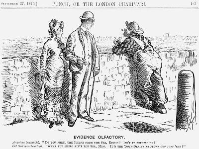 Evidence Olfactory, 1879-Charles Samuel Keene-Giclee Print