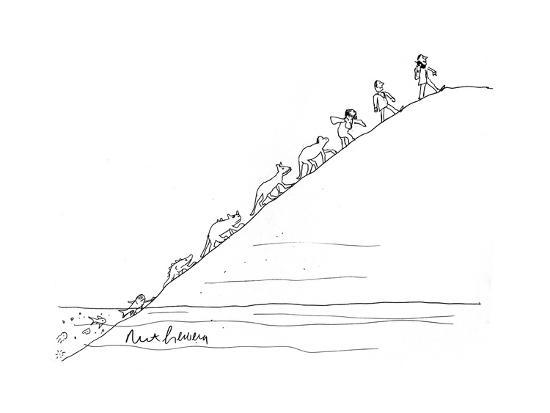 Evolution - Cartoon-Mort Gerberg-Premium Giclee Print