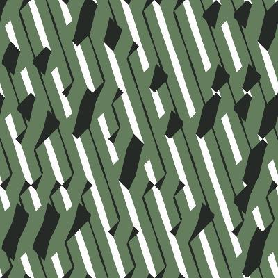 Evolving Geometry - Vector Seamless Pattern-Vytenis Slajus-Art Print
