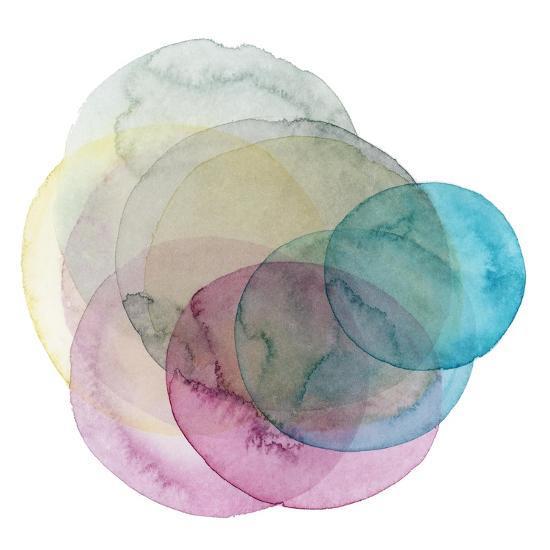 Evolving Planets II-Grace Popp-Art Print
