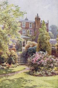 Home of Charles Dickens at Gadshill, Kent by EW Haslehust