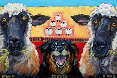 Ewe Dog Ewe-Connie R. Townsend-Art Print