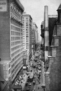 Chestnut Street, Philadelphia, Pennsylvania, USA, C1930S by Ewing Galloway