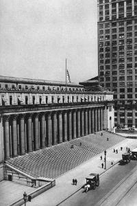 James Farley Post Office Building, New York City, USA, C1930s by Ewing Galloway