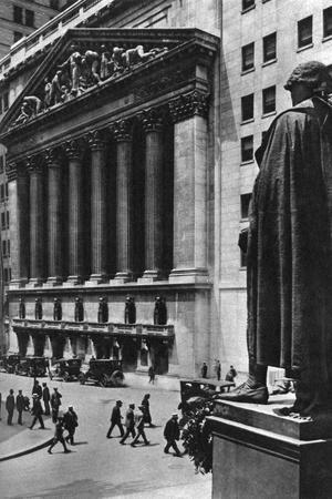 New York Stock Exchange, New York City, USA, C1930S