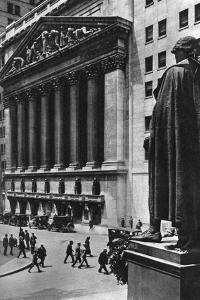 New York Stock Exchange, New York City, USA, C1930S by Ewing Galloway