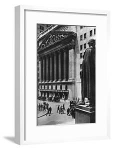 New York Stock Exchange, New York City, USA, C1930S by Ewing Galloway