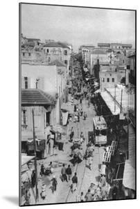 Street Scene, Beirut, Lebanon, C1924 by Ewing Galloway