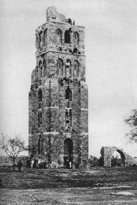 Tower of the Forty Martyrs, Ramla, Palestine, C1930S by Ewing Galloway