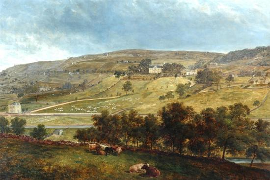 Ewood Hall From Greenfields, 1869-John Holland-Giclee Print