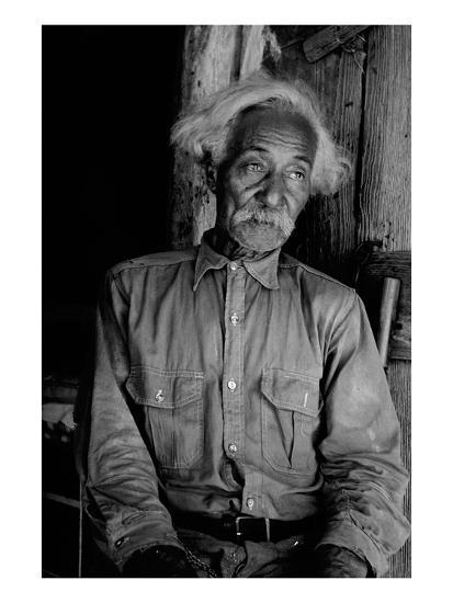 Ex-Slave Cattleman-Dorothea Lange-Art Print