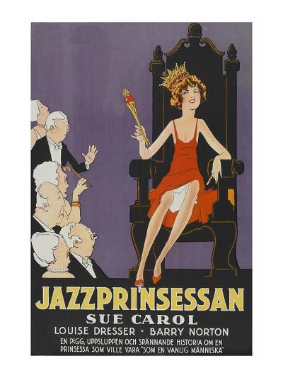 """Exalted Flapper """"Jazzprinsessan""""--Art Print"""