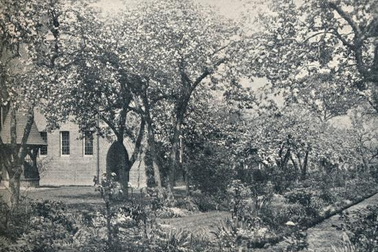 'Example of orchard garden, originally laid out by William Morris', c1900-Unknown-Photographic Print