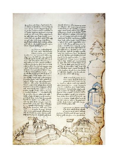 Examples of Fortifications, Illustration by Francesco Di Giorgio Martini--Giclee Print