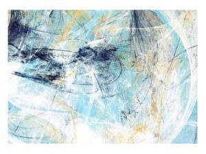 Abstract Beautiful Blue and White Soft Color Background. Dynamic Painting Texture. Modern Futuristi by Excellent backgrounds