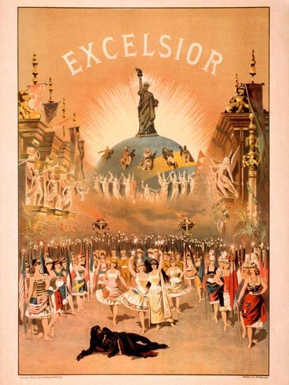 Excelsior-Forbes Co^-Art Print