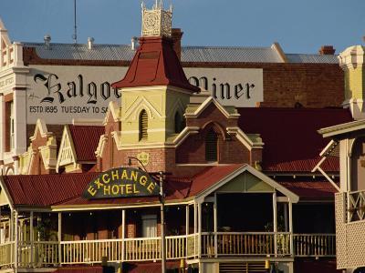 Exchange Hotel Dating from 1900, Kalgoorlie, Western Australia, Australia, Pacific-Ken Gillham-Photographic Print