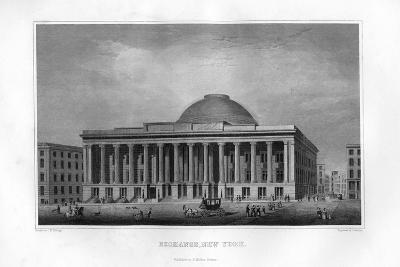 Exchange, New York, 1855-J Archer-Giclee Print