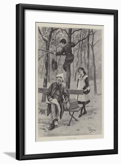 Exchange No Robbery-Albert Besnou-Framed Giclee Print