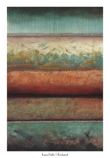 Excitement-Laurie Fields-Art Print