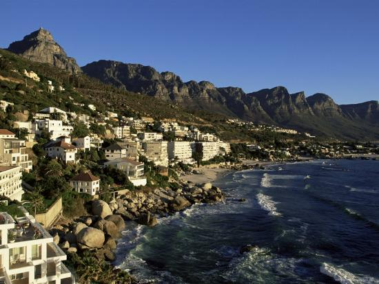 Exclusive Houses at the Upmarket Clifton Beach, Cape Town, South Africa, Africa-Yadid Levy-Photographic Print