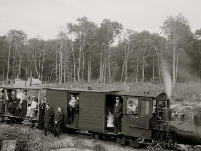 Excursion Logging Train, Harbor Springs, Mich.--Photo